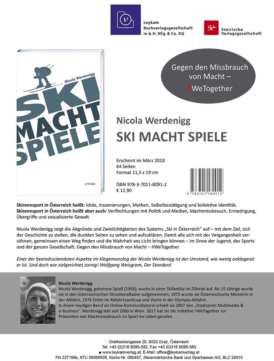 Infos zum Buch von Nicola Werdenigg SKI MACHT SPIELE