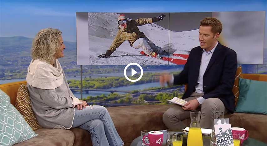 Ski Macht Spiele - Interview auf Puls 4